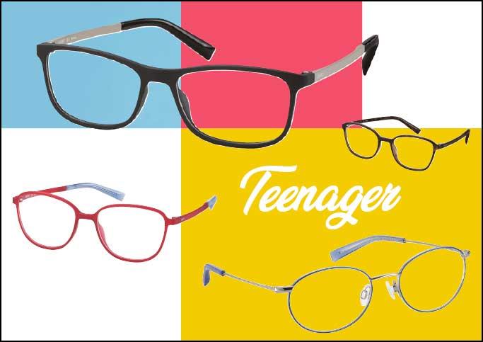 Für Teenies und Menschen mit kleineren Gesichtern hat die Marke ESPRIT die Small-Kollektion im Sortiment