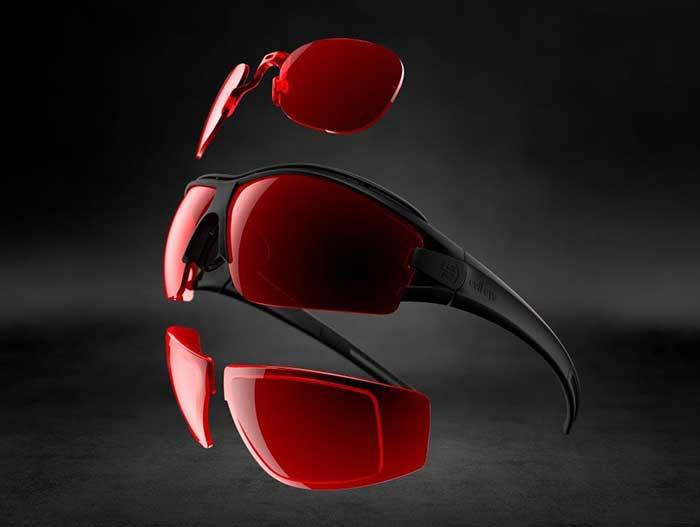 Mit Direktverglasung, Adapter oder Clip-in bietet evil eye verschiedenste Verglasungsmöglichkeiten an