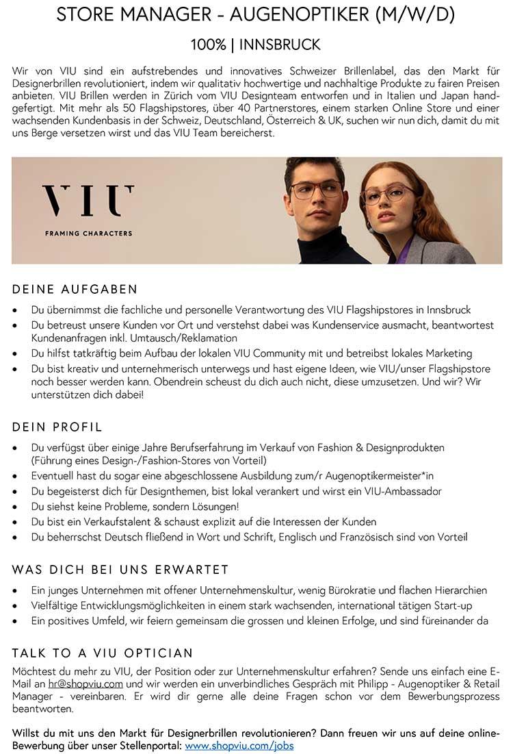 20200806-Stellenangebot-VIU-Innsbruck