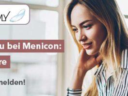 Neu bei Menicon: Live Webinare