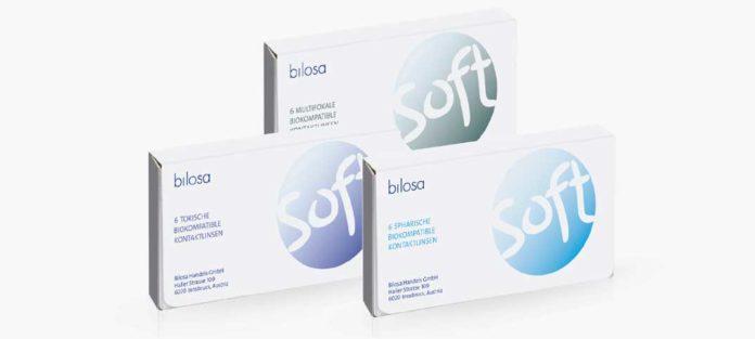 BILOSA SOFT - die biokompatible Monatslinse im bewährten Hydrogel Material