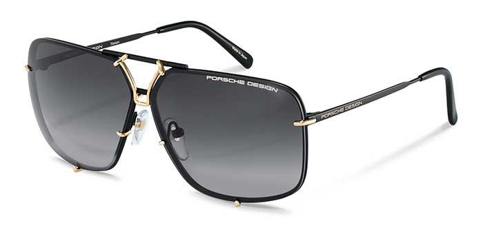Angelehnt an diesen Designklassiker, überzeugt die neue Sonnenbrille P'8928 mit dem unverwechselbaren, kantigeren Look.