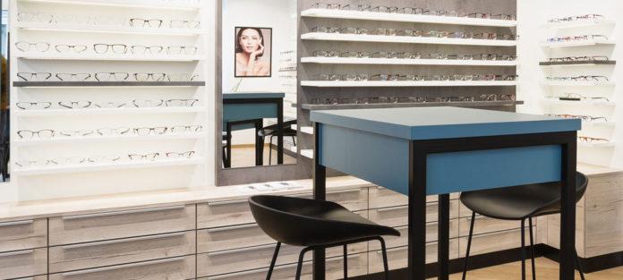 Vrana Shopdesign setzt Ihre hochwertigen Brillenfassungen optimal in Szene