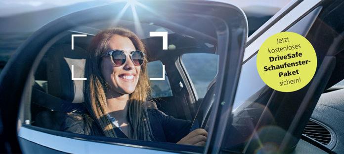 Lenken Sie die Aufmerksamkeit auf DriveSafe – für mehr Verkehrssicherheit