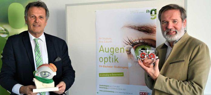 Bachelor-Studium für Augenoptik ab Herbst 2021