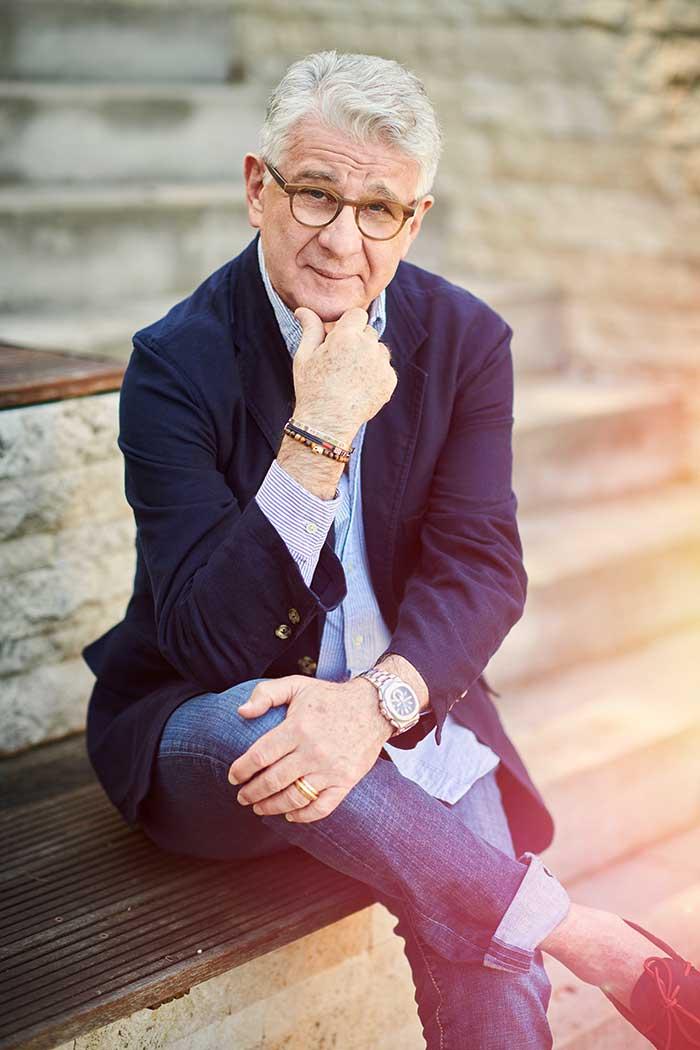 Sportkommentatoren-Legende Marcel Reif ist der aktuelle SiiA® Markenbotschafter