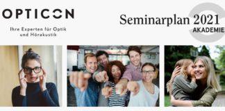 Neuer Opticon Seminarplan: erstes Halbjahr 2021