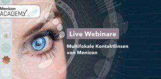 Multifokale Kontaktlinsen von Menicon
