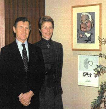 Dora Demmel und Arnold Schmied