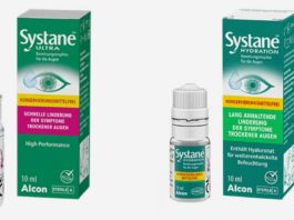 Alcon führt die Benetzungstropfen Systane® ULTRA ohne Konservierungsmittel und Systane® HYDRATION ohne Konservierungsmittel ein