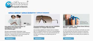 optikum Newsletter im neuen Design