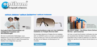 optikum Newsletter im neuen Design