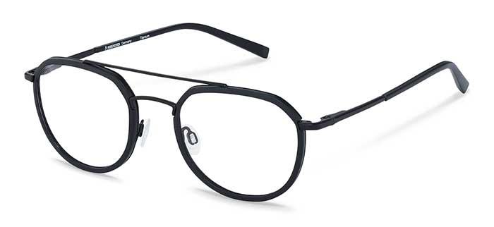 """Mit der """"Signature""""-Serie setzt Rodenstock Maßstäbe in puncto Qualität, Präzision und Ästhetik. Das Piloten-Herrenmodell reflektiert dieses Anspruchsdenken mit einem dynamischen Design, das dem Träger mit markanter Linienführung und sportlichen Details wie dem Doppelsteg zusätzliches Profil verleiht. Herrenbrille mit progressivem Materialmix aus Titan und RXP®-Kunststoff von Rodenstock. Modell R7113A."""