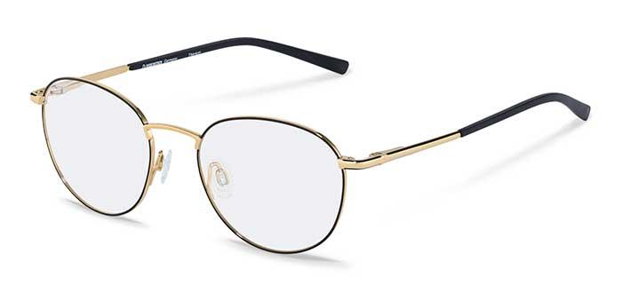 """Seit den 20er-Jahren gilt die Pantobrille als Markenzeichen der intellektuellen Elite und erfährt damit ein regelmäßiges Update. Mit herausragender Funktionalität, verführerischen Kurven und erfrischendem Minimalismus zahlt das Damenmodell aus der """"Signature""""-Serie einmal mehr auf dieses Image ein. Damenbrille mit einer Slim- Fassung aus ultraleichtem Titan. Modell R7115D."""