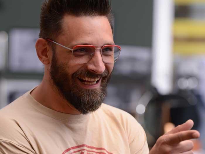 Das Geschäftsführer-Duo Stefan Bopp und Matthias Deter zeigen mit dem Brillenlabel ZWO modernes Brillendesign.