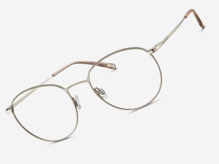 """ESCHENBACH bietet den österreichischen Augenoptik-Betrieben mit topaktuellem Fassungsdesign – wie zum Beispiel der hier abgebildetenMarc O´Polo Eyewear 502154 –ein """"Welcome Eschenbach 2021"""" Paket an."""