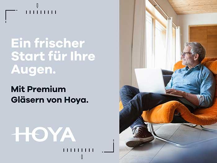 Mit Premium Brillengläsern von HOYA steht einem frischen Start der Augen in das Jahr 2021 nichts im Wege.