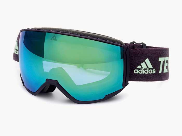MARCOLIN bietet neben Eyewear Fashionkomfortable Produkte, wie zum Beispiel die neuen adidas Terrex Ski Goggles.