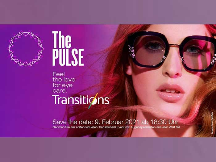 SAVE THE DATE Transitions® virtuelles Trend-Event - Am Puls der Zeit 09.02.2021, 18:30-19:30 Uhr.