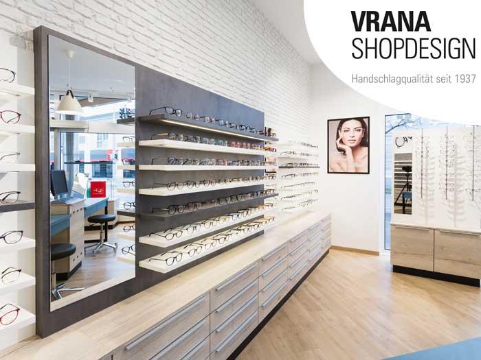 VRANA SHOPDESIGN ist auf die Neugestaltung und den Ladenbau bei Augenoptikern und Hörakustikern spezialisiert.
