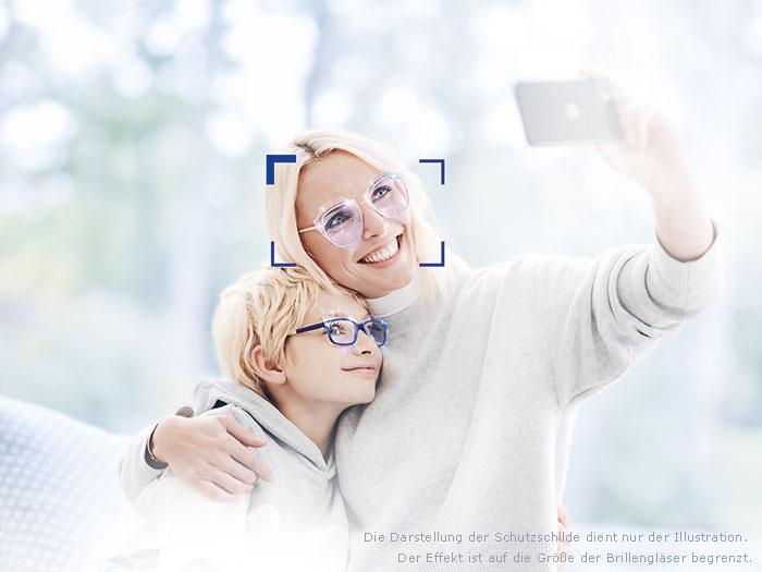 Eine der ZEISS Innovationen 2021: ein antivirales und antibakterielles Brillenglas.