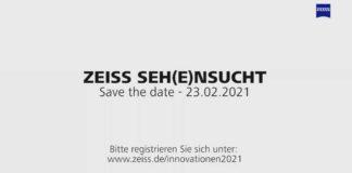 ZEISS 2021 –Jetzt zum virtuellen Event für 23. Februar anmelden