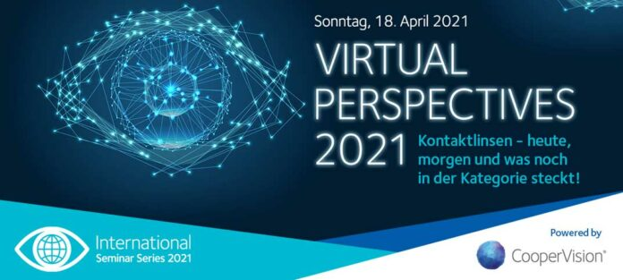 "CooperVision lädt zur ""Virtual Perspectives 2021"""