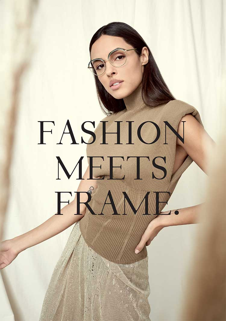 Fashion meets frame