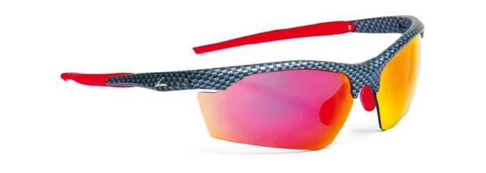 Absoluter Renner bei den verglasbaren Sportsonnenbrillen der Marke Leader Sports ist das Modell Tracker