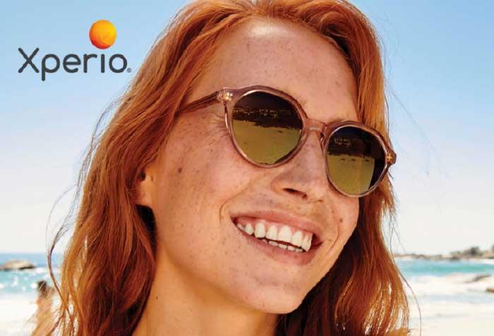 Exklusiv für XPERIO® Sonnenbrillengläser