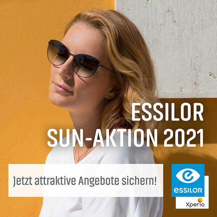 die Essilor SUN Aktion 2021