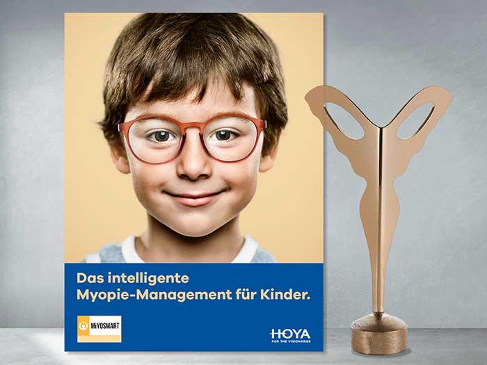 """Im Oktober 2020 wurde das Brillenglas auf der """"Optik Fachmesse Silmo"""" in Paris mit dem """"Silmo d'Or Award"""" in der Kategorie """"Vision"""" prämiert."""