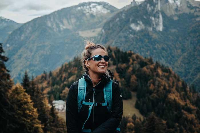 Die MONTEROSA 2 ist DER neue Begleiter für sportliche, dynamische Frauen, die regelmäßig im Gebirge unterwegs sind