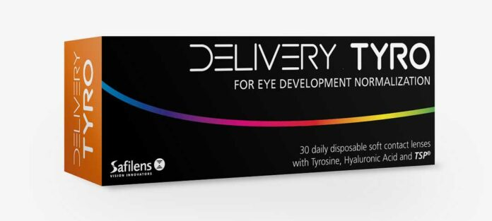 DELIVERY – neue Kontaktlinse von Safilens