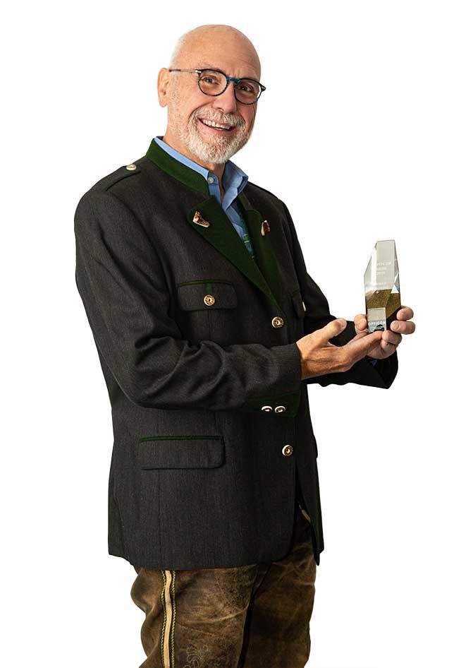 POMBERGER Goisern konnte schon im Jahr 2019 mit ihrem Kundenbetreuer Manfred Ferstl einen der begehrten Preise gewinnen