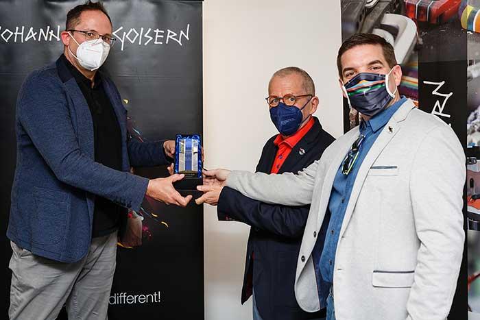 Übergang der OPTICON Awards an Pomberger