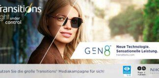Transitions Optical unterstützt mit einer digitalen Mediakampagne
