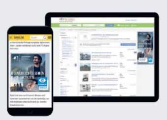 Via Online-Marketing können Essilor Partneroptiker potenzielle Kunden in ihrer Region ansprechen