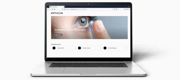 OPTICON Kontaktlinsenbestellung der neuen Generation