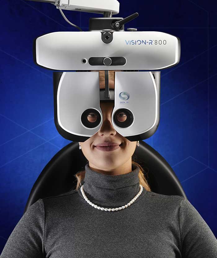 Der VISION-R™ 800 ist ein wichtiger zukunftsweisender Baustein in der biometrischen, persönlichen und umfassenden Sehen-wie-ein-Luchs-Philosophie von R+H