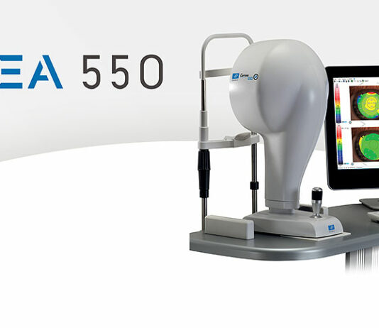 Cornea 550 - Leistungsstark und hochpräzise bei der Kontaktlinsenanpassung
