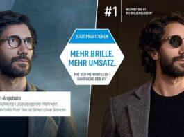 Mehr Brille. Mehr Umsatz. Essilor startet Mehrbrillen-Kampagne 2021